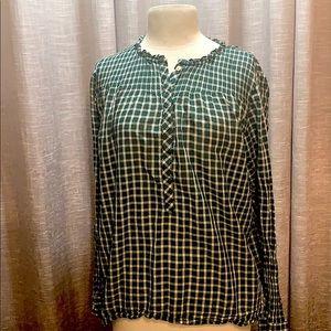 J.Crew plus size blouse